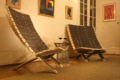 fauteuil dantoine le mobilier design des grands vins fauteuil bois chaise bois. Black Bedroom Furniture Sets. Home Design Ideas